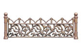 Old-time forged fence 2. — Stock Photo