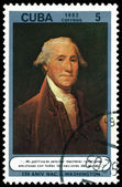 Vintage postage stamp. George Washington. — Stock Photo