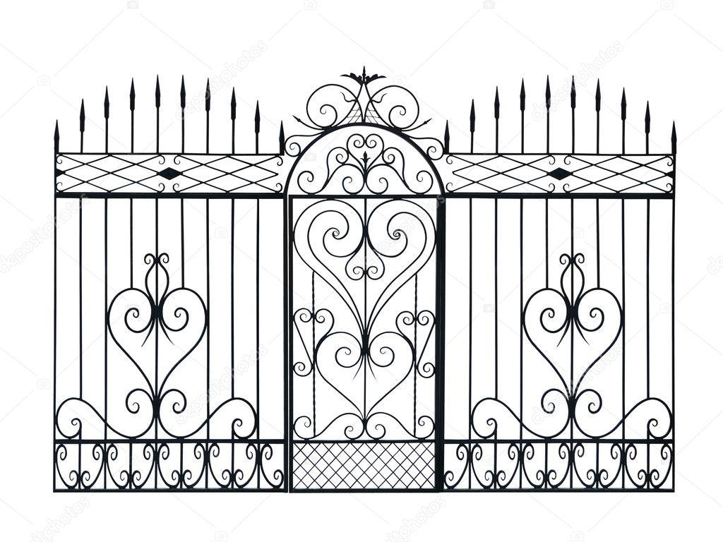 Забор своими руками с узором