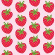 Seamless pattern with strawberries — Stock Vector #5690435