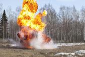 Palla di fuoco — Foto Stock