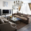 Modern lounge room — Stock Photo