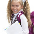Stock Photo: Schoolgirl