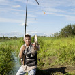 Stock Photo: Fishing time