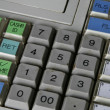 Cash Register Detail — Stock Photo