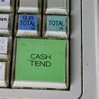 Cash Register Detail - Stock Photo