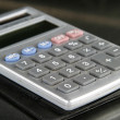 Calculator Detail — Stock Photo