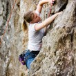 Royalty-Free Stock Photo: Female Climber
