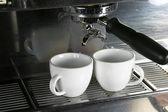 Two Espresso Cups — Stock Photo