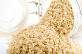 Whole Grain Instant Rice — Stock Photo