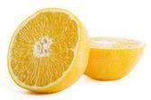 čerstvé řezané oranžová — Stock fotografie
