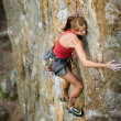 Female Climber — Stock Photo #5680169