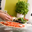 Royalty-Free Stock Photo: Homemade Italian Style Pizza