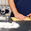 Making Pasta Detail - Stock Photo