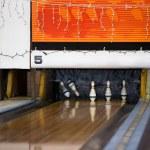 Retro Bowling Alley — Stock Photo