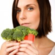 Fast Food Broccoli - Stock Photo
