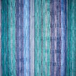 Backlit Green Curtain - Stock Photo