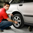 Stock Photo: Tire Repair