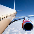 Airplane in Flight — Stock Photo #5685210