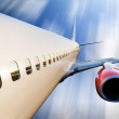 Airplane in Flight — Stock Photo #5685219