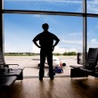 Waiting at Airport — Stock Photo