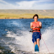 Royalty-Free Stock Photo: Water Skiing