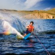 Waterskiing - Stock Photo