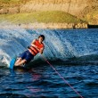 Waterskiing — Stock fotografie