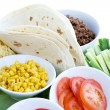 Stock Photo: Taco Ingredients