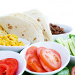 Taco Ingredients - Stock Photo