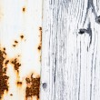 Royalty-Free Stock Photo: Rust and Wood