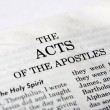 Book of Acts - Stock Photo