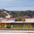 Vikersund Train Station — Stockfoto