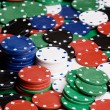 Casino Chip Background — Stock Photo