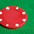 Red Poker Chip — Stock Photo #5687317