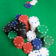 Poker Chips — Foto de Stock