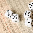 Royalty-Free Stock Photo: Stock Market Dice