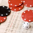 Stock Photo: Stock Market Gamble