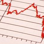 Stock Market Trend — Stock Photo