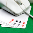 Royalty-Free Stock Photo: Online Gambling Concept