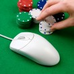 Online Gambling — Stock Photo