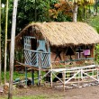 Indonesian Christmas Hut - Stock Photo