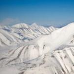 Snow Mountain Range — Stock Photo