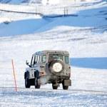 Extreme Winter Truck — Stock Photo