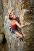 Female Climber — Stock Photo