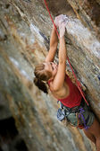 Female Climber — Foto de Stock