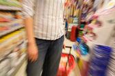 Snabba shopping — Stockfoto