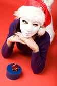 Secret Santa — Stock Photo