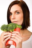 Fast Food Broccoli — 图库照片