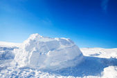 Igloo Building Detail — Stock Photo